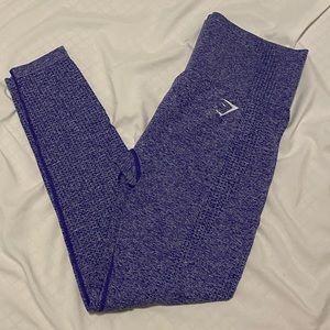 Gymshark Vital Seamless Leggings Indigo Marl